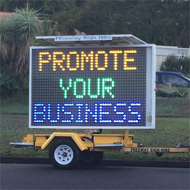 LED Sign Hire
