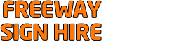 Freeway Sign Hire Logo